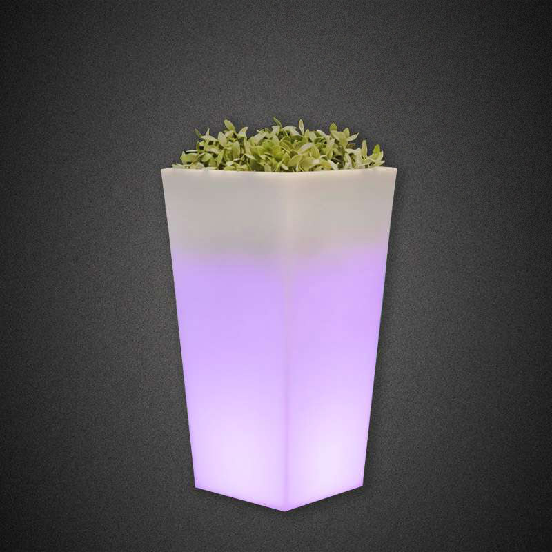 LED SQUARE POT 5W RGB