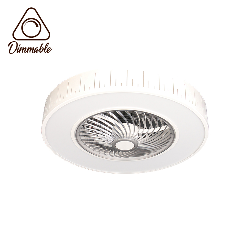 LED FAN CEILING LAMP F9003 A1 3-WHITE DIMM