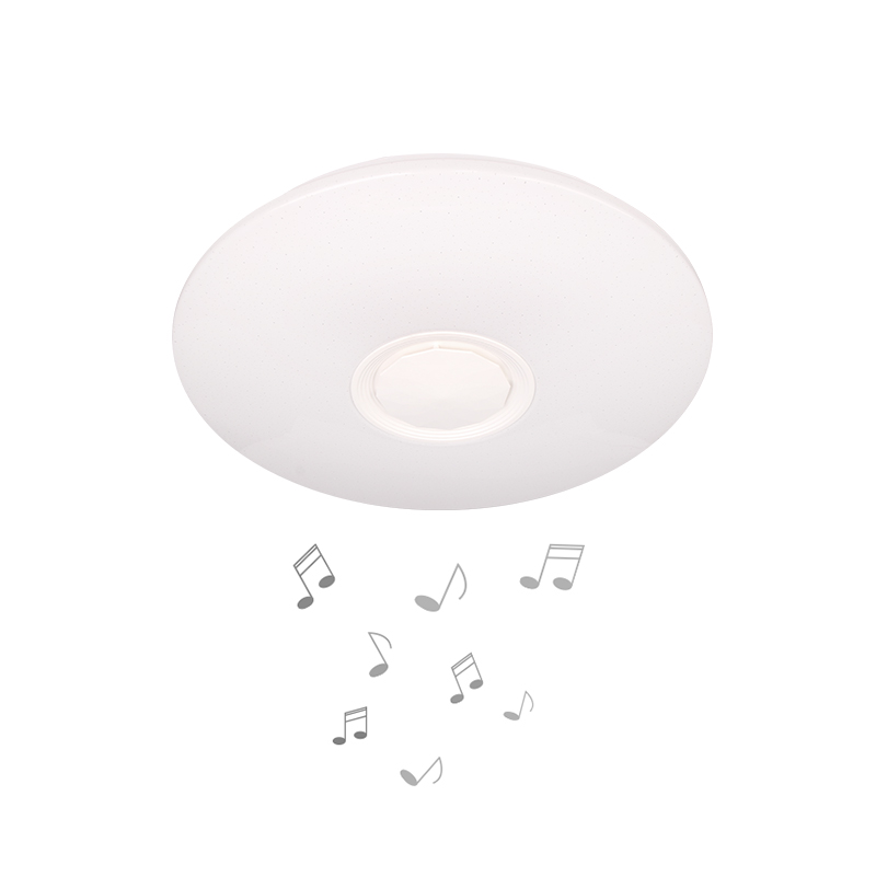 LED MUSIC CEILING LAMP LY8338 3-WHITE