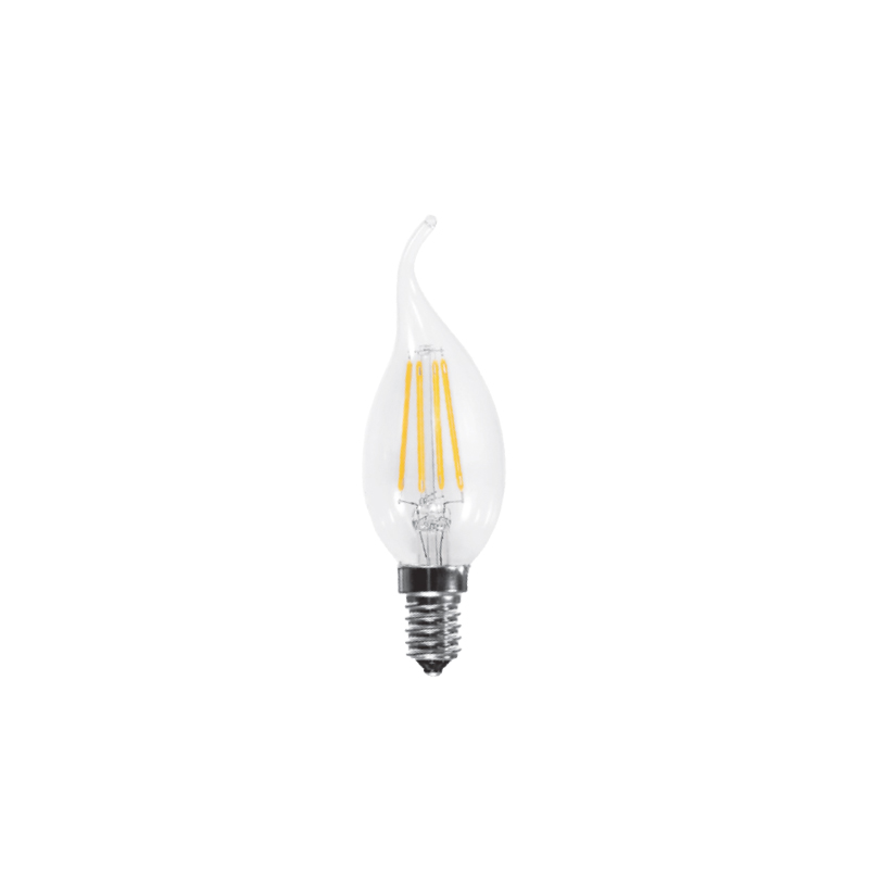 LED LAMP FILAMENT E14 BT35 FLAME