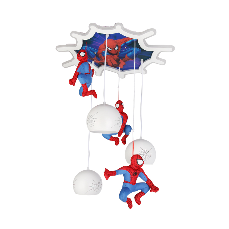 CHANDELIER SPIDER-MAN 8468 + LED