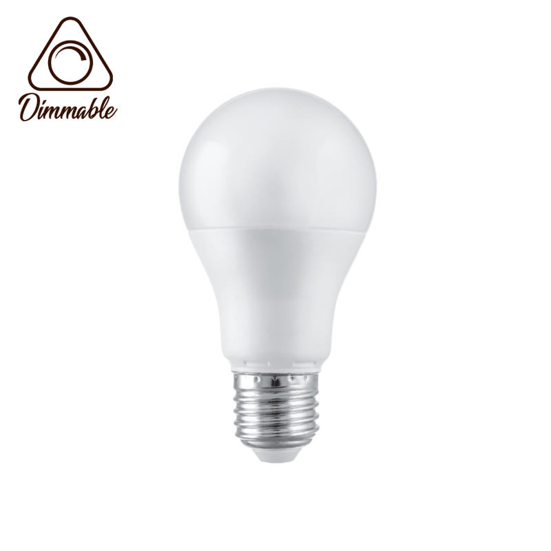 LED LAMP CAP GLOBE E27 A60 DIMM