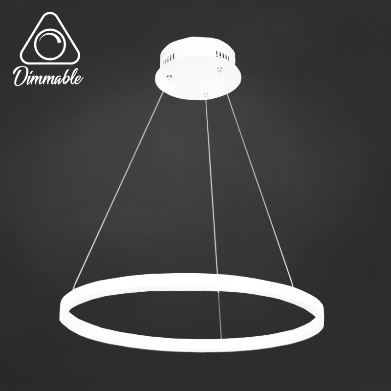 LED CHANDELIER 1010 3-WHITE DIMM 1 WHITE