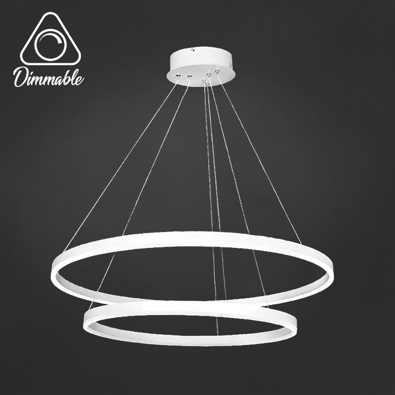LED CHANDELIER 1010 3-WHITE DIMM 2 WHITE
