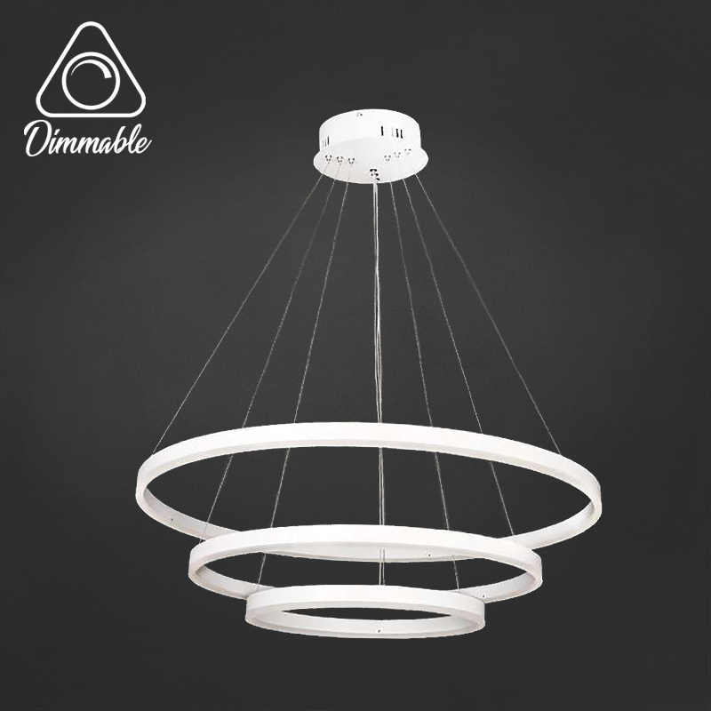 LED CHANDELIER 1010 3-WHITE DIMM 3 WHITE