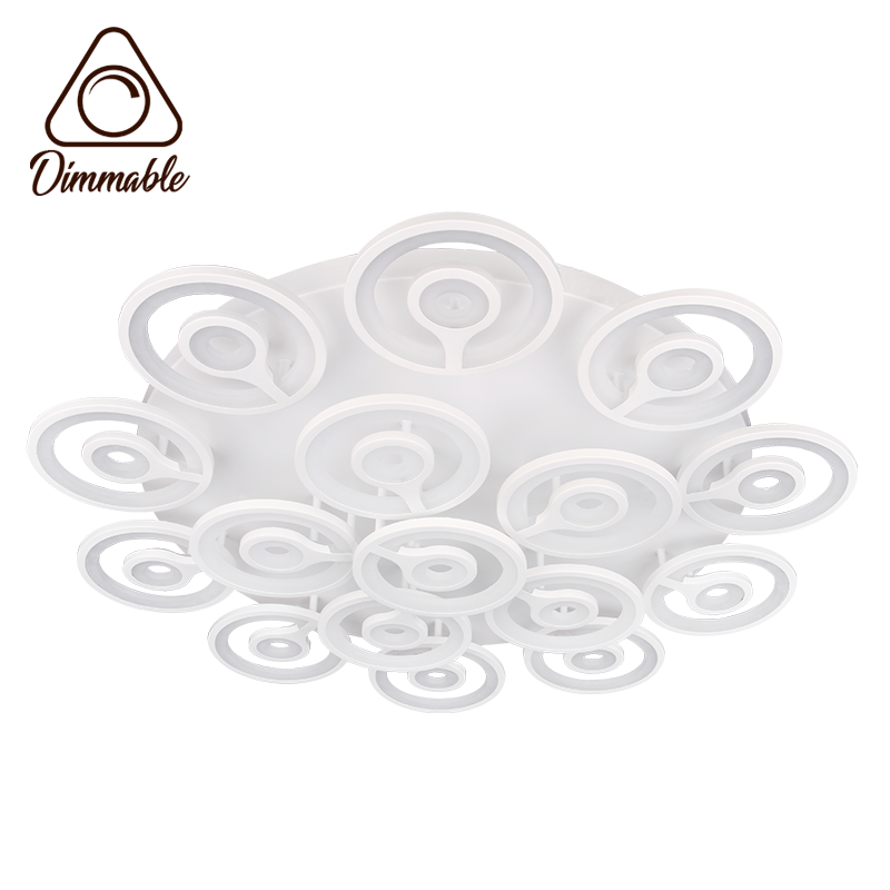LED CHANDELIER 6015/16 3-WHITE DIMM