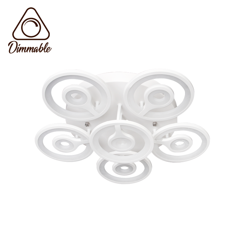 LED CHANDELIER 6015/6 3-WHITE DIMM
