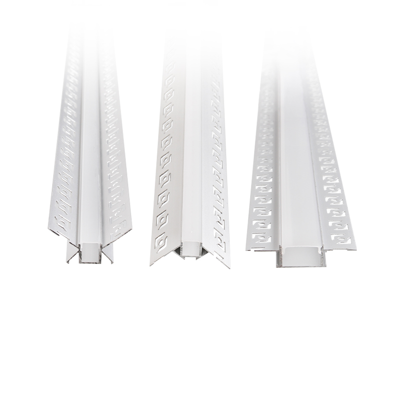 ALUMINIUM PROFILES WITH PVC COVERS 2m SET FOR LED STRIPS LIGHTS