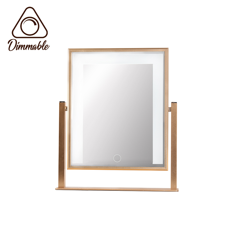 LED TABLE MIRROR 8W 3-WHITE DIMM