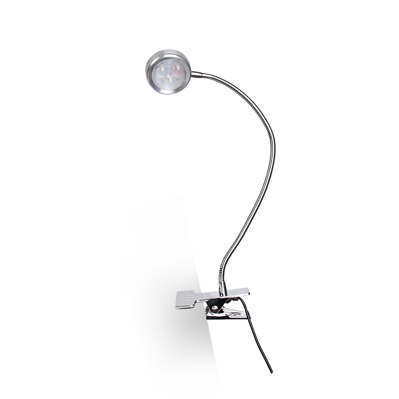 LED TABLE LIGHT WITH CLIP