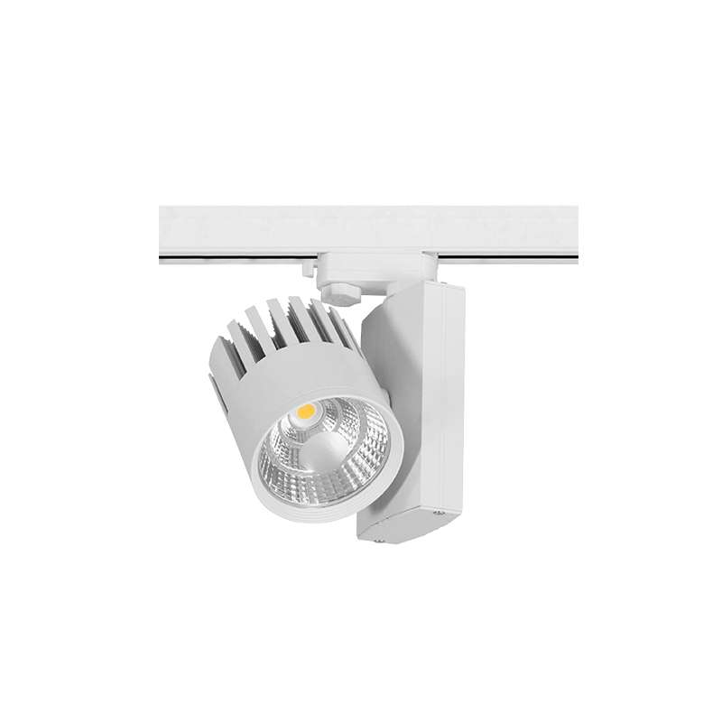 LED TRACK LIGHT METRO PAM 4 WIRE WHITE Flicker-Free