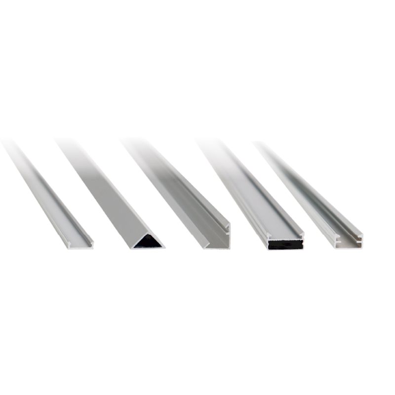 ALUMINIUM PROFILES FOR LED STRIP LIGHTS OPEN