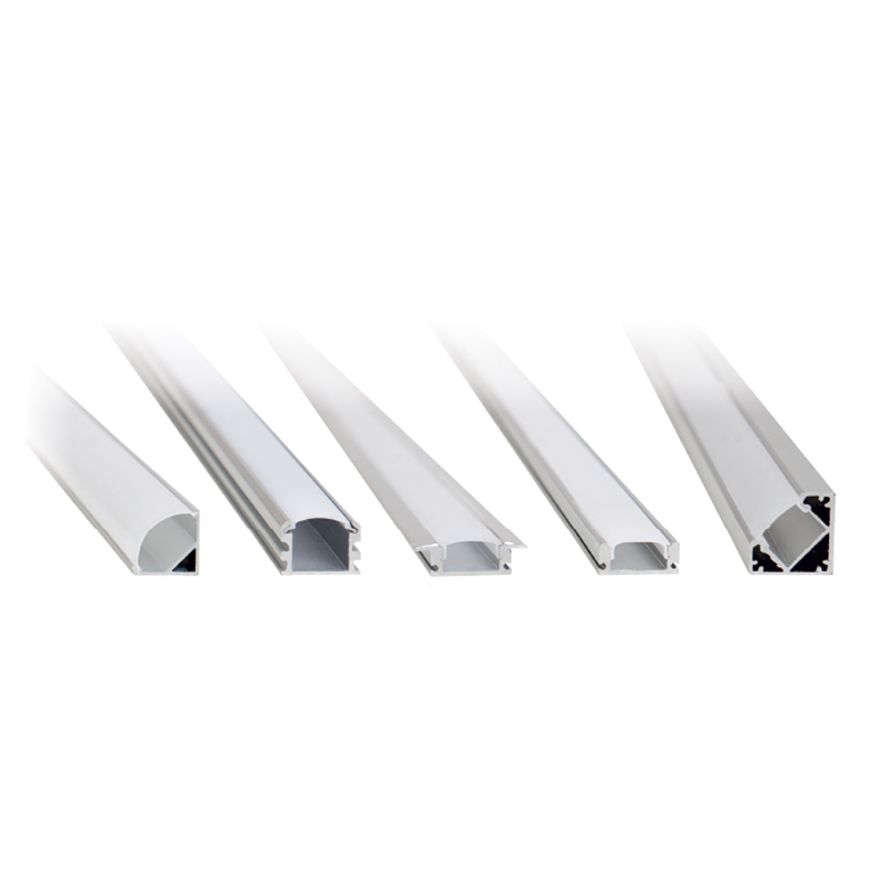 ALUMINIUM PROFILES WITH PVC COVER FOR LED STRIPS LIGHTS