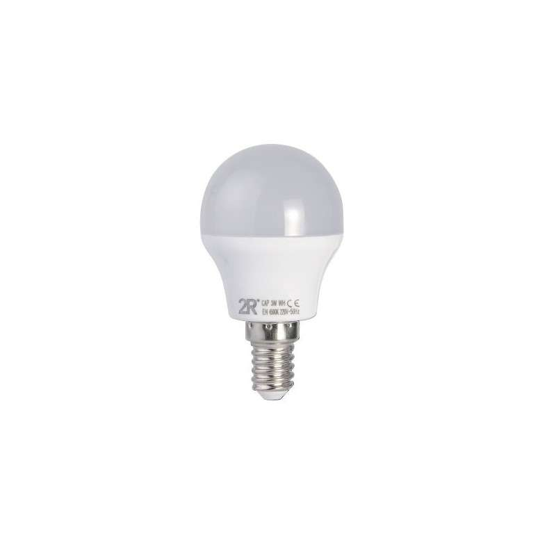 LED LAMP CAP GLOBE E14 G45