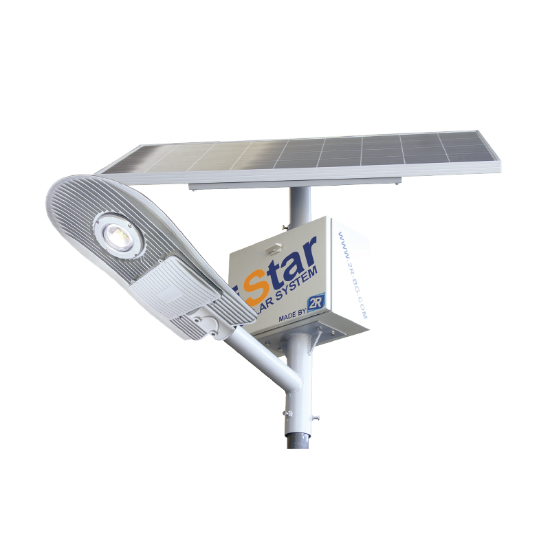 LED SOLAR SYSTEM ISTAR WITH POLE