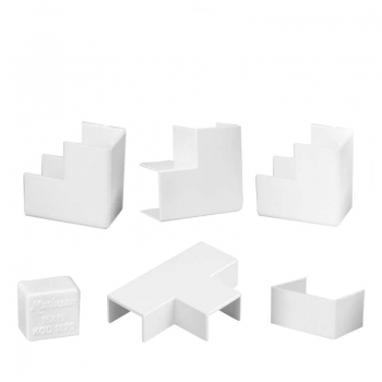 ACCESSORIES FOR CABLE TRUNKING 12x12mm